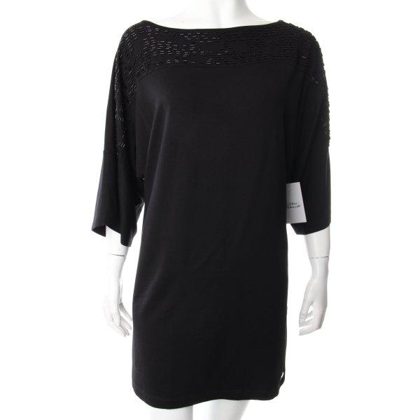 Sarah Kern T-Shirt schwarz Eleganz-Look