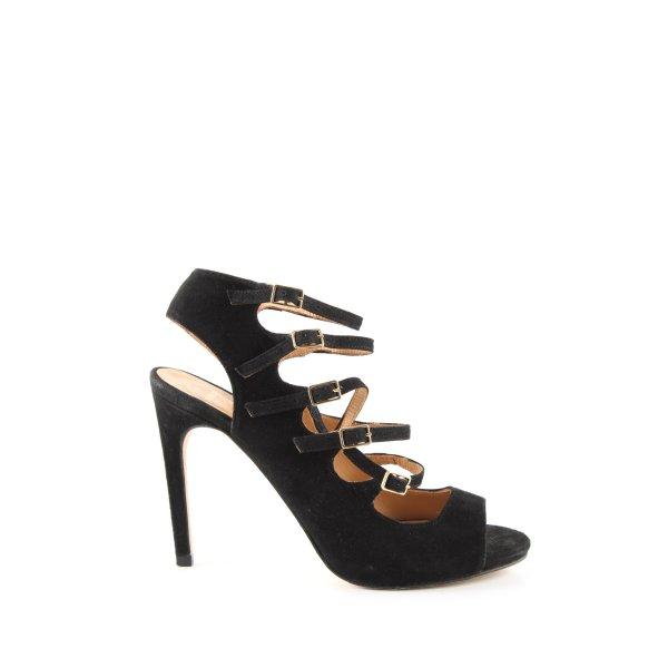 Sarenza High Heel Sandaletten schwarz Casual-Look