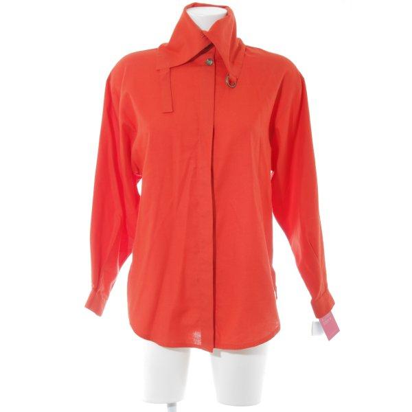 Scarabäus Vintage-Bluse Umlegekragen