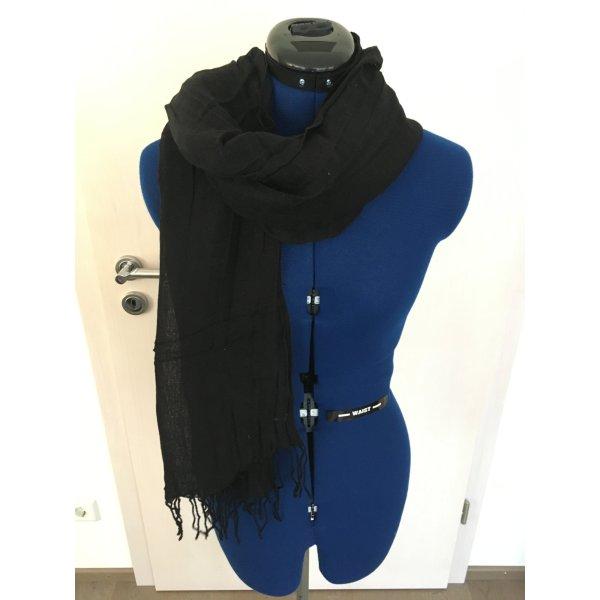 edc by Esprit Sjaal met franjes zwart