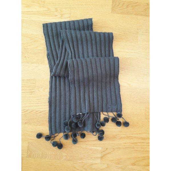 Puma Knitted Scarf grey-dark grey