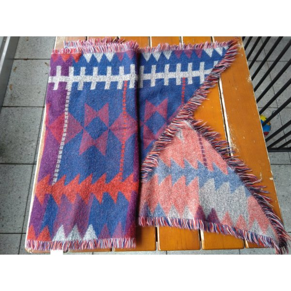 Review Fringed Scarf multicolored polyacrylic