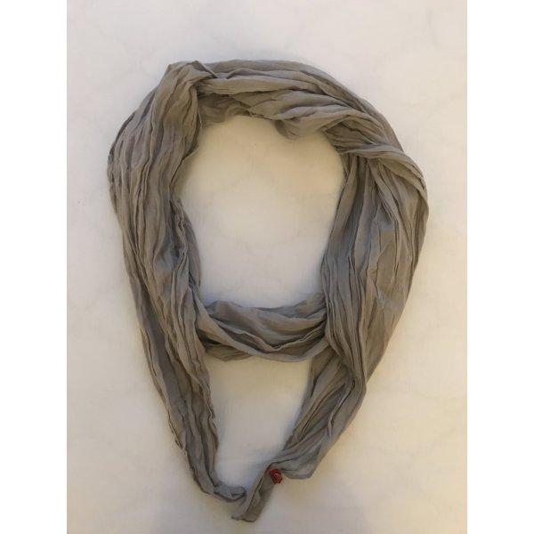Schal / Tuch, Edc by Esprit, Grau / Beige Knitteroptik, One Size