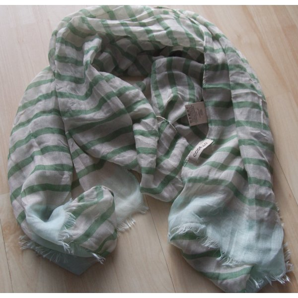 Schal von Codello  - grün - NEU