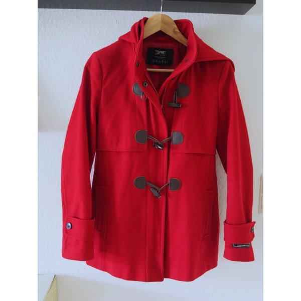 Schicker roter Duffle Coat von ESPRIT, Gr. 40 - sehr elegant NP 229,90 € !
