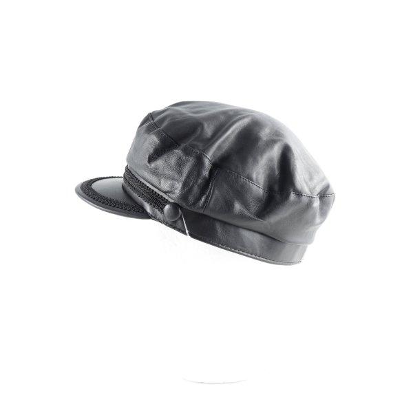 Schirmmütze schwarz Street-Fashion-Look