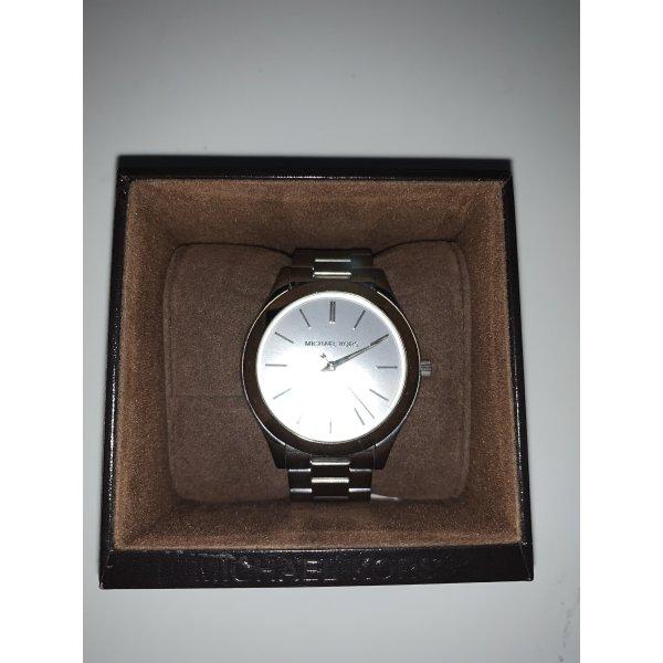 Schlichte Michael Kors Uhr in Silber