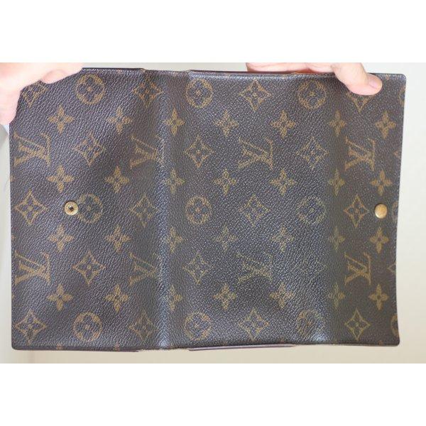 Schlüsseletui Louis Vuitton dunkelbraun