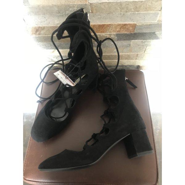 Schnür Sandaletten Cout Out Heels von Zara gr. 36 MEU