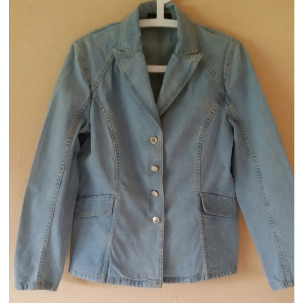 Schöne Betty Barclay Jeansjacke Gr. 40