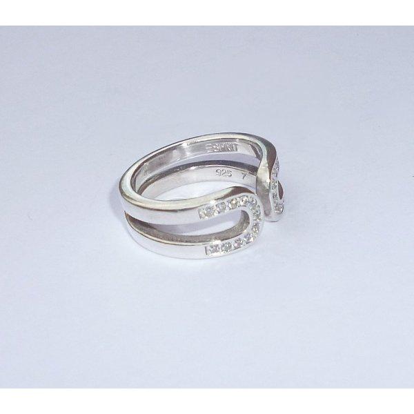 Schöne ESPRIT Damenring Silber 925 Größe ist verstellbar!