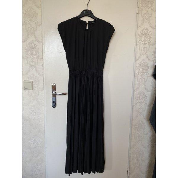 Hallhuber Vestido de Verano negro