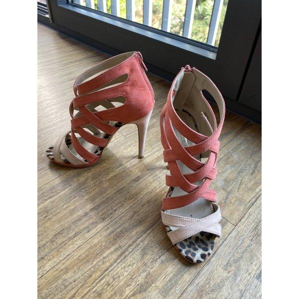 Schöne Sandale in Gr. 36, rosa