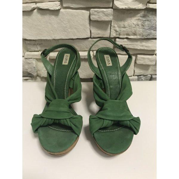 Schöne Sandaletten von Zara Gr 36