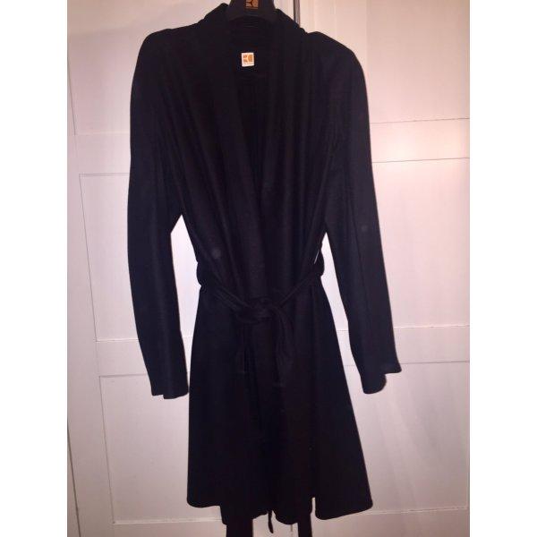 Boss Orange Cappotto in lana nero