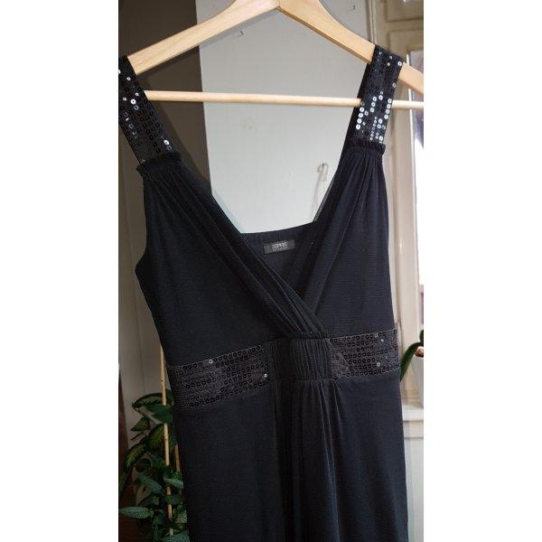 Esprit Chiffon jurk zwart