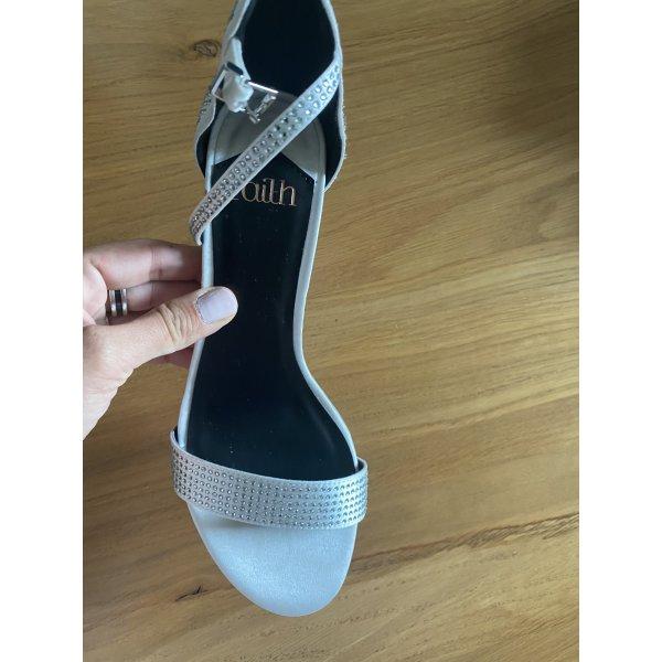 Schuhe 38 weiß Faith heels