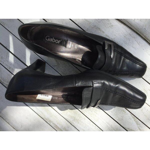 Gabor Slip-on Shoes black leather