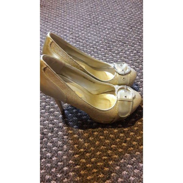 Schuhe Pumps Jumex Gold