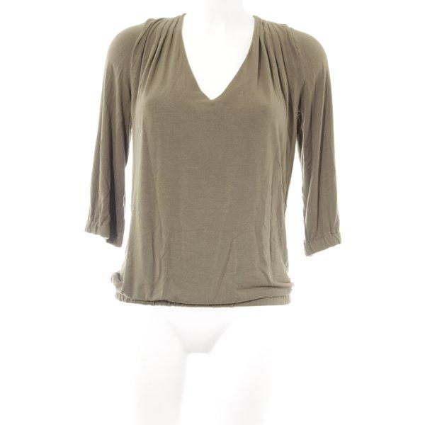 Schuhmacher Sweatshirt grüngrau-schwarz Casual-Look