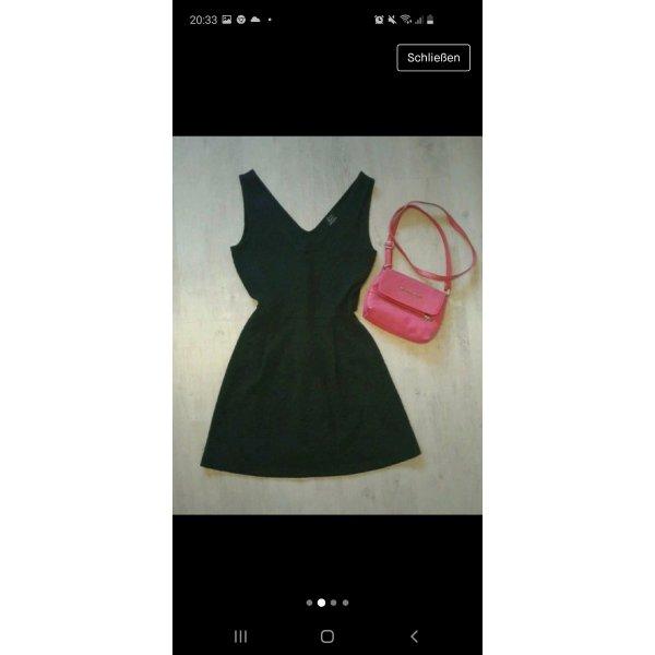 schwarz Kleid Dekolleté süss von Zara Gr. S