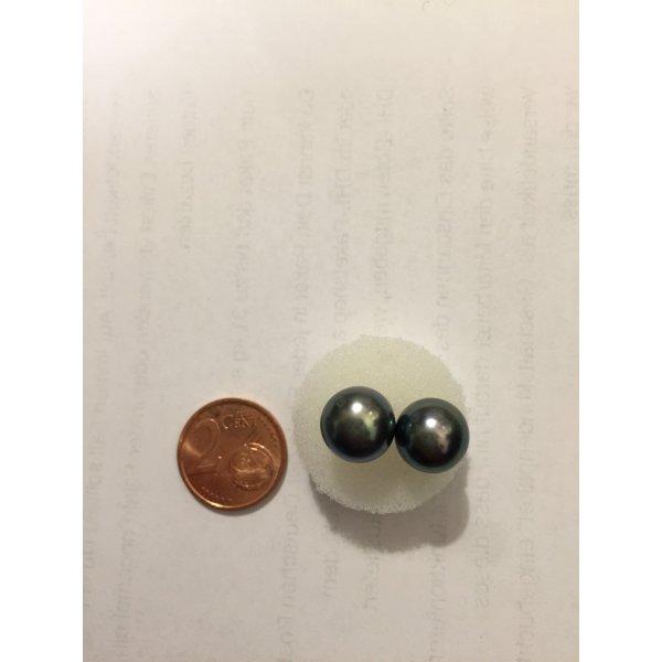 Schwarz Perle Ohring