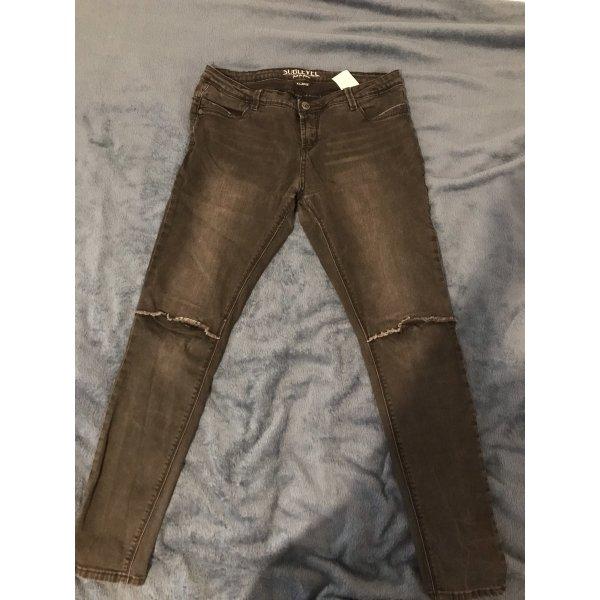 Schwarz Sublevel Jeans