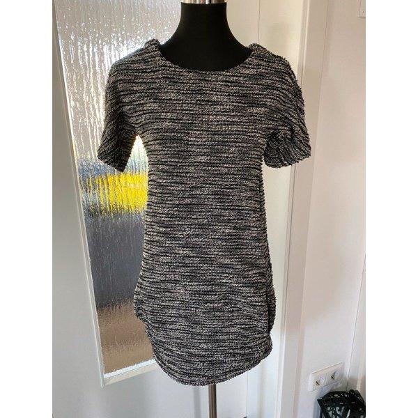 Schwarz/weißes Kleid von Voyelles, Gr. S / M