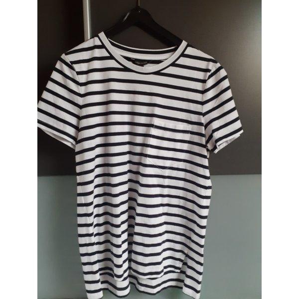 Schwarz weißes T shirt