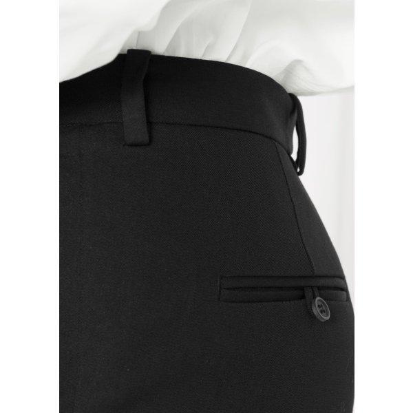Schwarze Anzughose aus Baumwolle, NP 69€