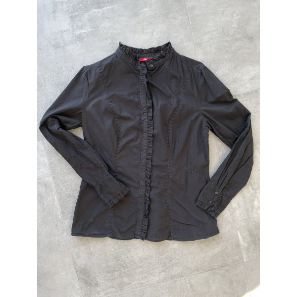 Schwarze Bluse von s.Oliver - Gr. 42