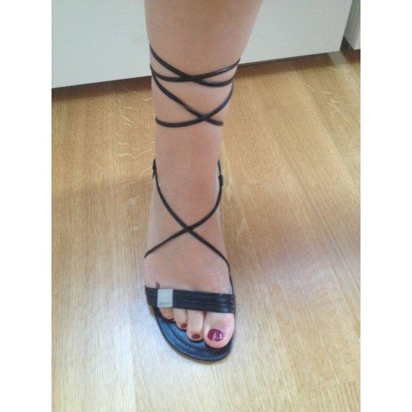 Schwarze Esprit Sandale Ballerina
