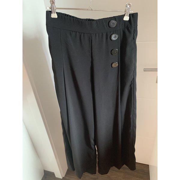 Schwarze Hose - Culotte