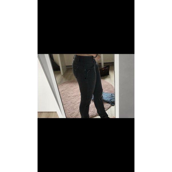 Schwarze Jeans von One Green Elephant