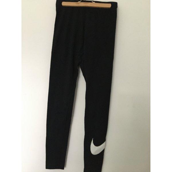 Schwarze Leggings von Nike
