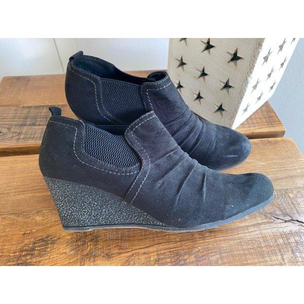 Schwarze Schuhe / Boots von Graceland, Gr. 39
