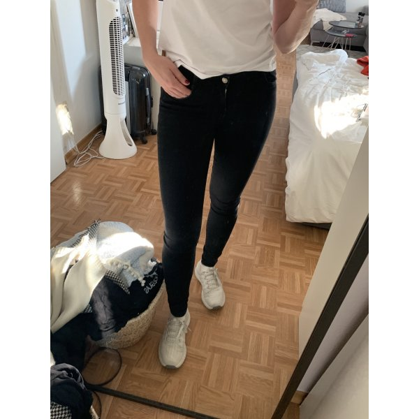 Schwarze Skinny jeans von zara
