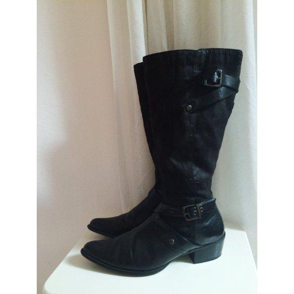 Schwarze Stiefel von Görtz 17