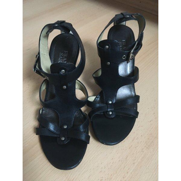 Schwarze Wedges Sandaletten von Franco Sarto