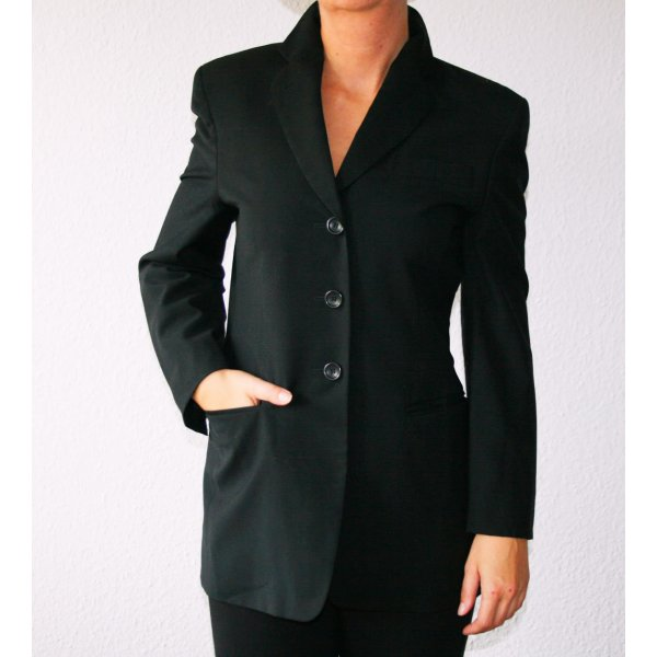 Windsor Wool Blazer black wool
