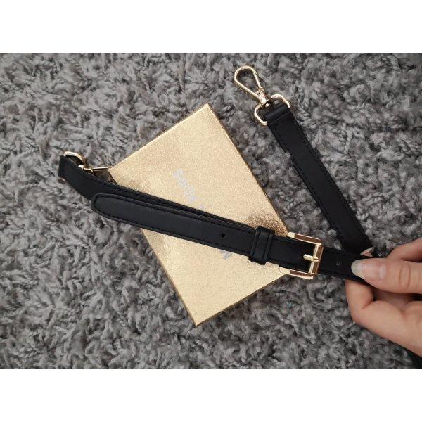 schwarzer Taschengurt von Michael Kors