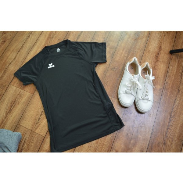 Schwarzes erima Sport T-Shirt 36