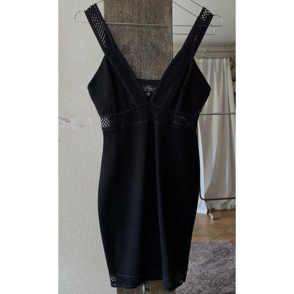 Schwarzes Kleid von Topshop