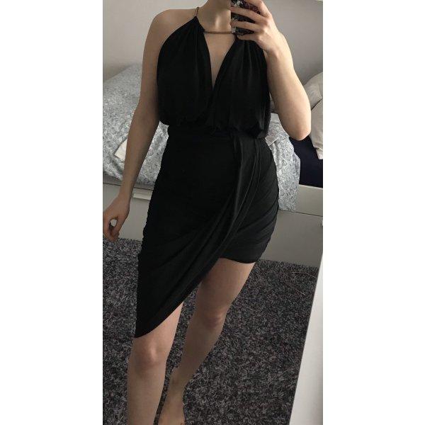 Schwarzes Minikleid