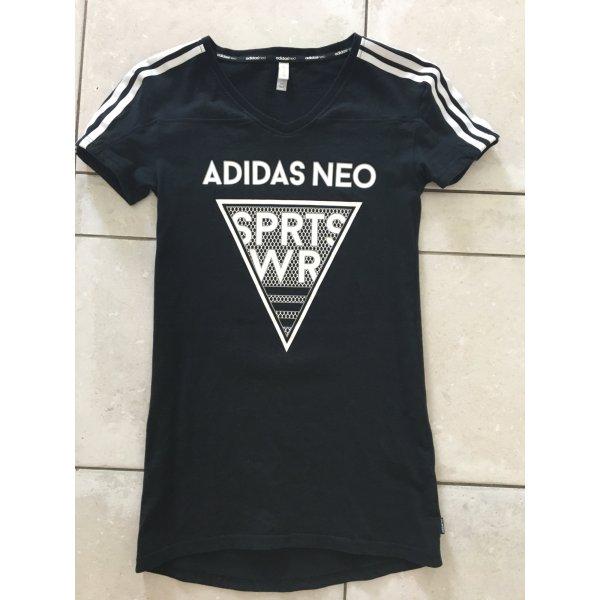 Schwarzes Shirt adidas neo LETZTE CHANCE