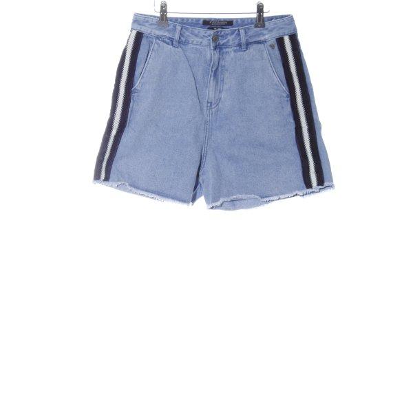Scotch & Soda High-Waist-Shorts mehrfarbig Casual-Look