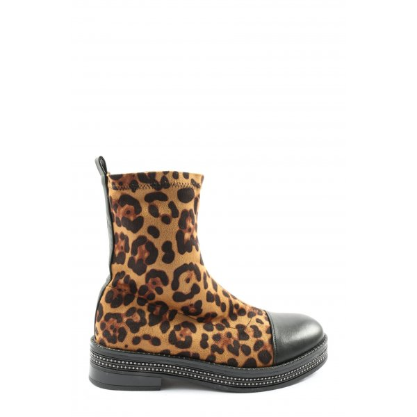 SDS Booties Leomuster Casual-Look