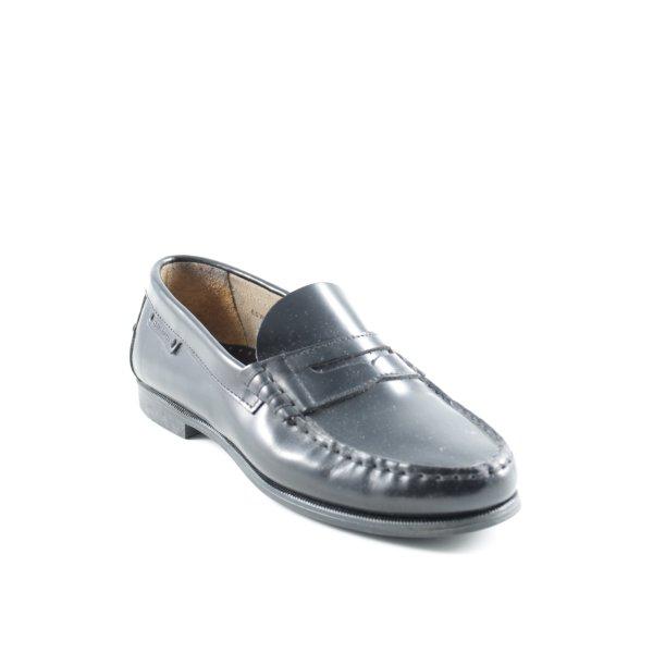 Sebago Zapatos estilo Oxford negro estilo «business»