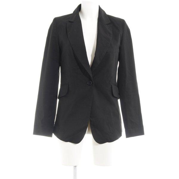 Second Female Long-Blazer schwarz Elegant