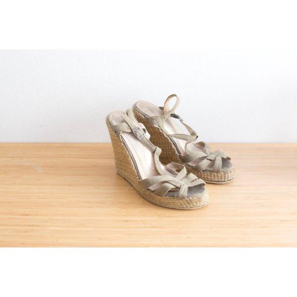 Buffalo High-Heeled Sandals multicolored